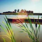 pomost nad jeziorem dejguny nieopodal sterlamasuria